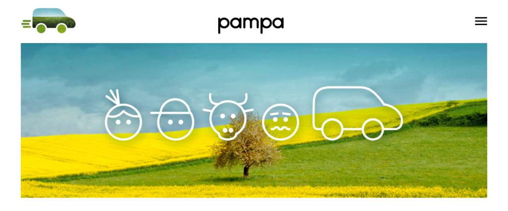 Startseite Pampa App