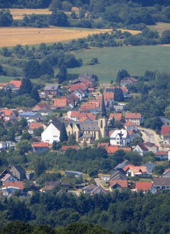 Hasborn-Dautweiler Ansicht von oben